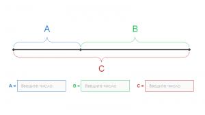 Калькулятор золотого сечения для поиска идеальных пропорций